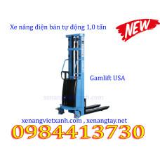 Xe nâng điện bán tự động 1,0 tấn GamLift S10