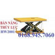 Bàn nâng điện 2000kg HW2001