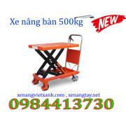 Xe nâng bàn 500kg  XNB500