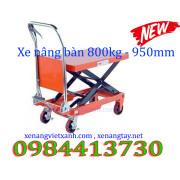 Xe nâng bàn 800kg nâng cao 1m wp800