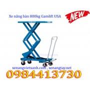 Xe nâng bàn 800kg nâng cao 1.4M Gamlift TAD80