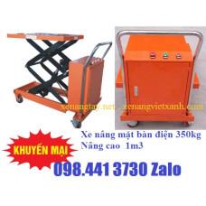 Xe nâng mặt bàn điện 350kg WP350D Niuli