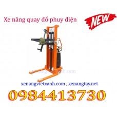 Xe nâng quay đổ phuy điện EDP3514 (nâng điện)
