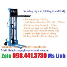 Xe nâng tay cao 1000kg Gamlift H10