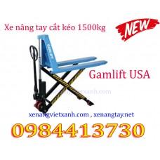 Xe nâng tay cắt kéo 1500kg Gamlift SLT15