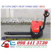 Xe nâng điện thấp 1500kg Heli