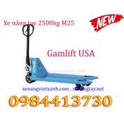 Xe nâng tay 2500kg gamlift M25S/M