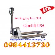 Xe nâng tay thấp  inox Gamlift M20S/M25S