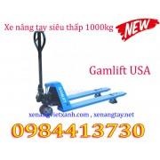 Xe nâng tay siêu thấp 1000kg Gamlift M10L