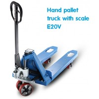 Hand pallet truck with scale 2000kg Gamlift E20V