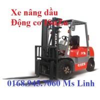 Xe nâng dầu 2500kg động cơ diesel Niuli