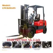 Xe nâng điện ngồi láy 2000kg cao 6m Niuli