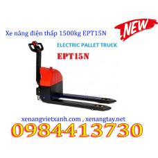 Xe nâng điện thấp 1500kg EPT15N