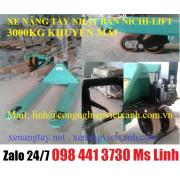 Xe nâng tay nhật bản 3000kg Nichi-lif