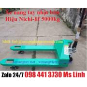 Xe nang tay nhật bản Nichilif 5000kg